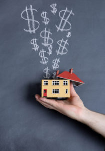 concept of making money from a house