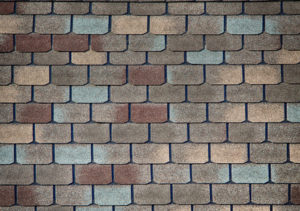 Shingle roof pattern for textured background