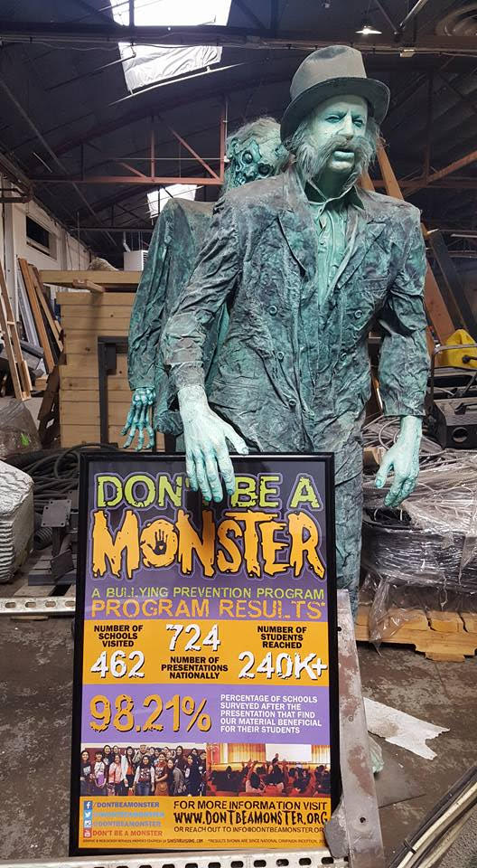 don't be a a monster, conscious real estate. dbam, 13th floor haunted house, 13th floor entertainment company, Kimberly McAleenan, conscious real estate, the conscious group, allison parks, denver conscious real estate, denver real estate