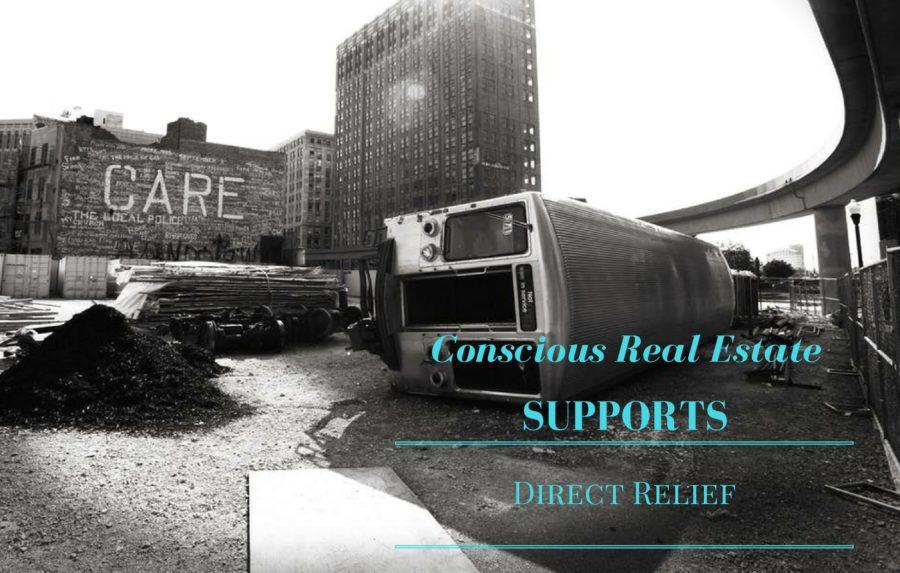 direct relief, denver nonprofit, denver charities, conscious real estate, allison parks, direct relief, conscious real estate agencies