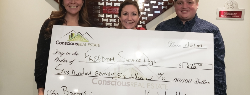 freedom service dogs, kimberly mcaleenan, the conscious group, conscious real estate, denver real estate, denver nonprofits